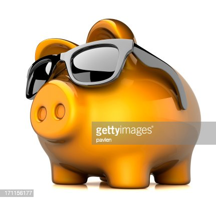 Cool piggy bank stock photo getty images for Really cool piggy banks
