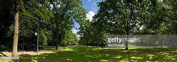 Kühler Sommer schattig Tiergarten Berlin