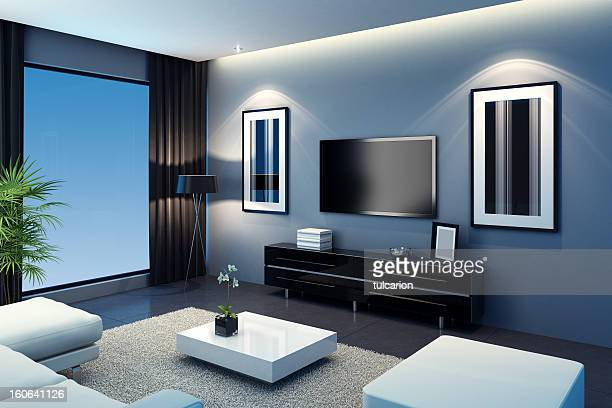 Cool TV Room
