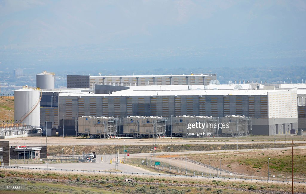 Cooling buildings are seen near the NSA's new spy data collection center south of Salt Lake City May 7 2015 in Bluffdale Utah Reportedly the center...