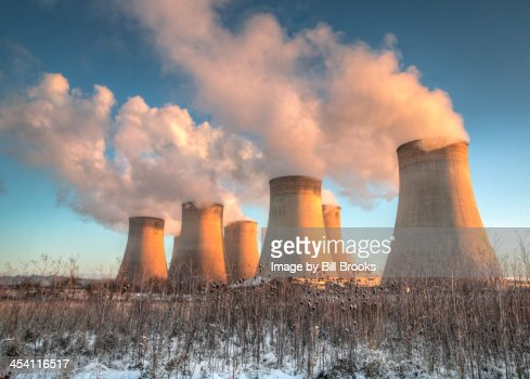 Cooling Towers at Sunrise
