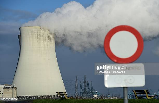Cooling towers of Belgium's Doel nuclear plant belch thick white steam in Doel Belgium January 12 2016 Concerns over the safety of Belgium's seven...