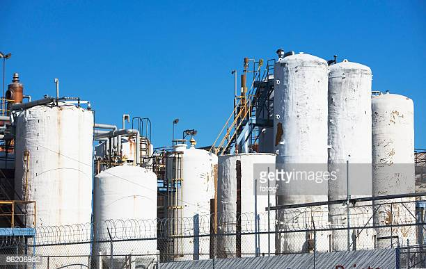 Cooling towers of industrial plant