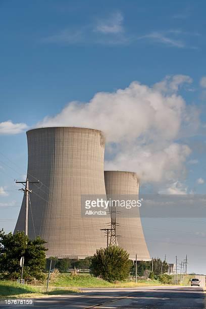 cooling towers roadside