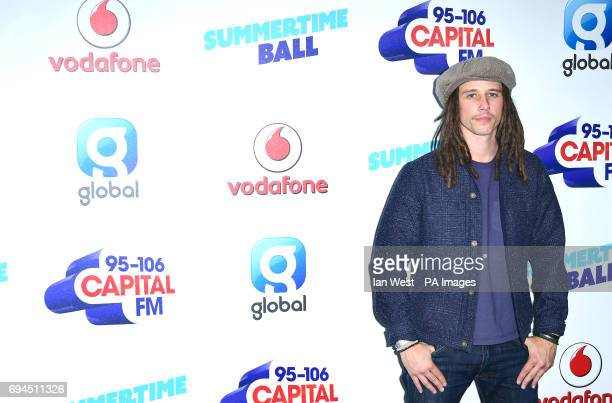 JP Cooper at Capital FM's Summertime Ball with Vodafone held at Wembley Stadium London