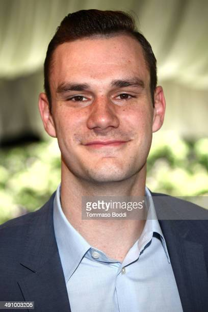 Cooper Hefner attends the Playboy's 2014 'Playmate Of The Year' announcement luncheon held at The Playboy Mansion on May 15 2014 in Beverly Hills...