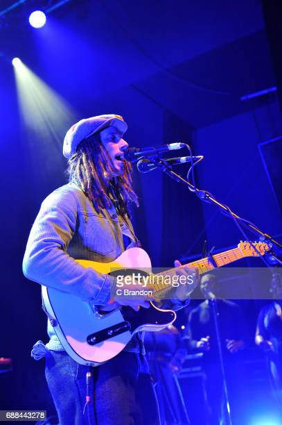 Cooper performs on stage at the O2 Shepherd's Bush Empire on May 25 2017 in London England