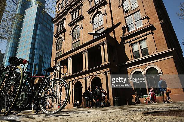 Cooper Union for the Advancement of Science and Art one of the last tuitionfree colleges in the country is viewed on April 24 2013 in New York City...