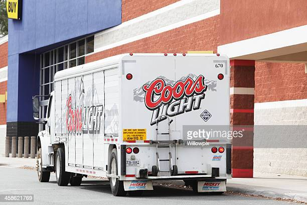 Coors Light Beer Delivery Truck