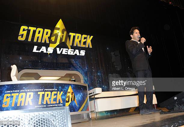 Coowner Adam Malin of Creation Entertainment on day 4 of Creation Entertainment's Official Star Trek 50th Anniversary Convention at the Rio Hotel...
