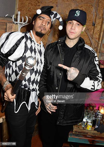 CoOwner of Cafe KaiZen Zues Sherlock and Ricky Hil attend 'Death Of A Geisha' hosted by Fran Cutler and Cafe KaiZen with Grey Goose on October 31...