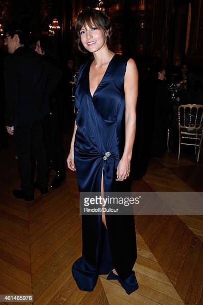 CoOwner of Leetha Caroline Nielsen attends Weizmann Institute celebrates its 40 Anniversary at Opera Garnier in Paris on January 12 2015 in Paris...