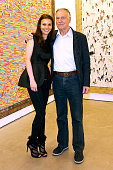 Coowner of the Gallery Helene Nguyen Ban and Galerist Yvon Lambert attend the 'A Moment of Reconstruction' Informal Dinner and Concert held at VNH...