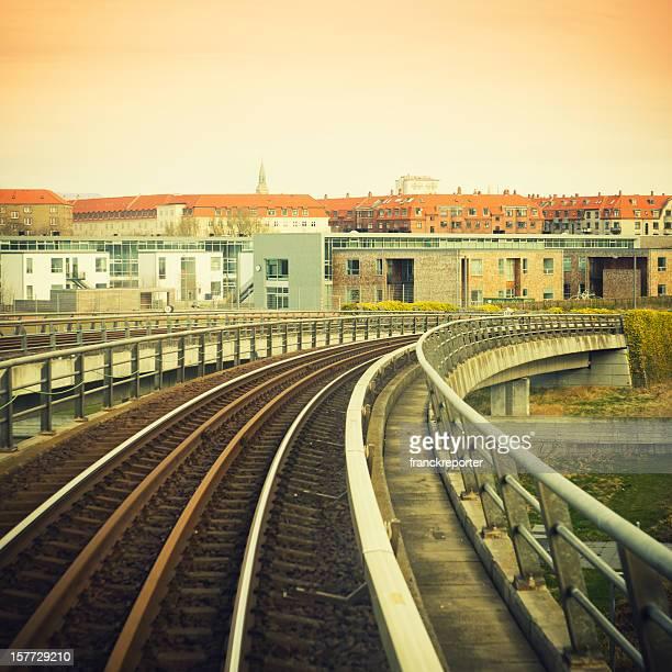 Copenhagen air metro railway