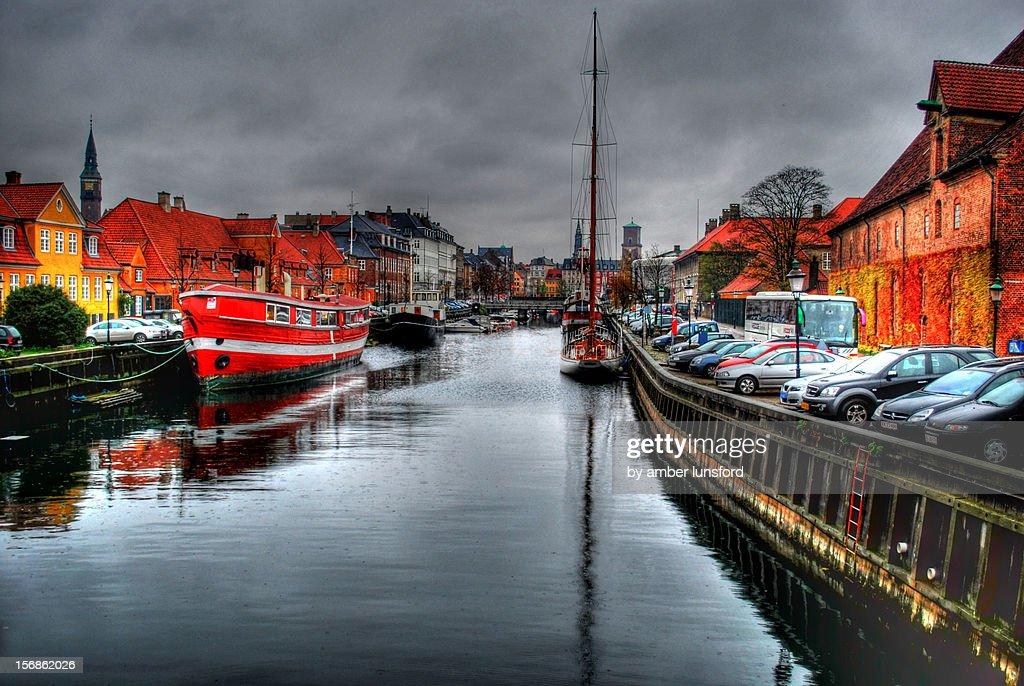 Copenhagen Canal : Stock Photo