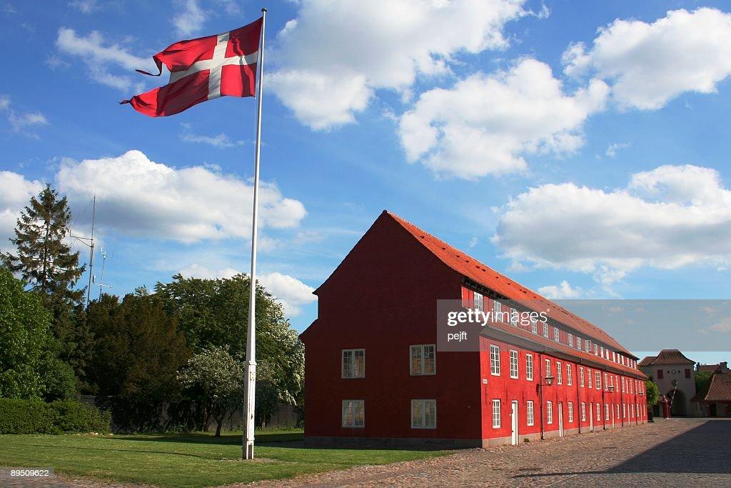 Copenhagen Citadel / Kastellet i København : Stock Photo
