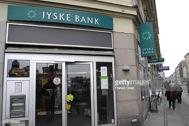 Copenhagen /Denmark 07 November 2013 _Danish Jyske bank and danish national boardcasting Denmark's Radio legal conflict under cover photographing and...