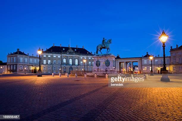 Copenhagen Denmark Amalienborg Palace