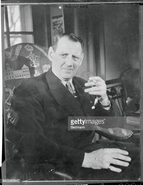 Denmark's Informal King Coming To Britain For State Visit An informal picture of King Frederick IX of Denmark who with Queen Ingrid will be coming to...