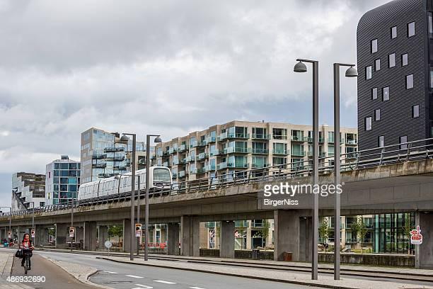 Copenhagen metro in Ørestaden