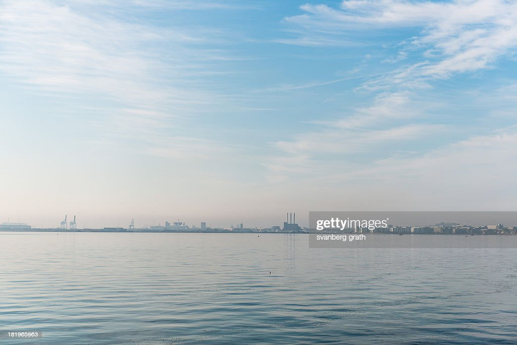 Copenhagen Skyline : Stock Photo