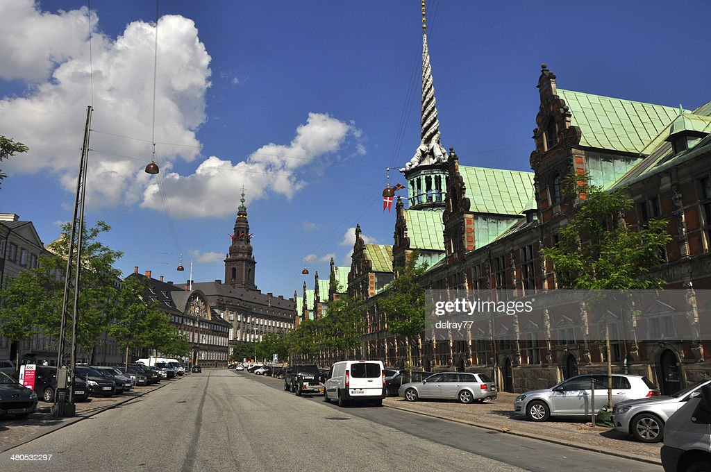 Copenhagen stock exchange, Denkmark : Stock Photo
