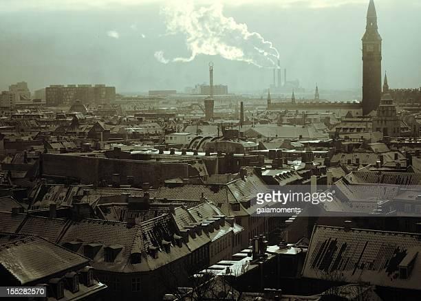 Copenhagen Winter Cityscape