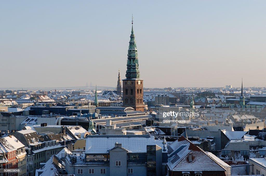 Copenhagen Winter Cityscape : Stock Photo