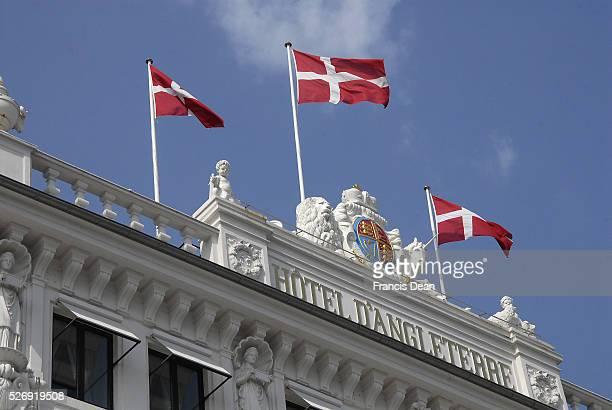 Copenhagen/Denmark/ 07 August 2015_Hotel D'Angleterre building