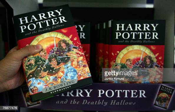 Harry Potter Book July ~ Harry potter book stock photos and pictures getty images