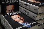 GBR: Former Prime Minister David Cameron's Memoir Is Published