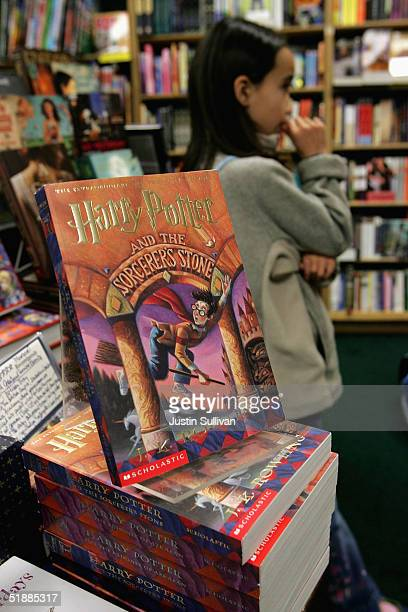 Copies of Harry Potter books stand on display at the Clean WellLighted Place For Books December 21 2004 in San Francisco California Harry Potter...