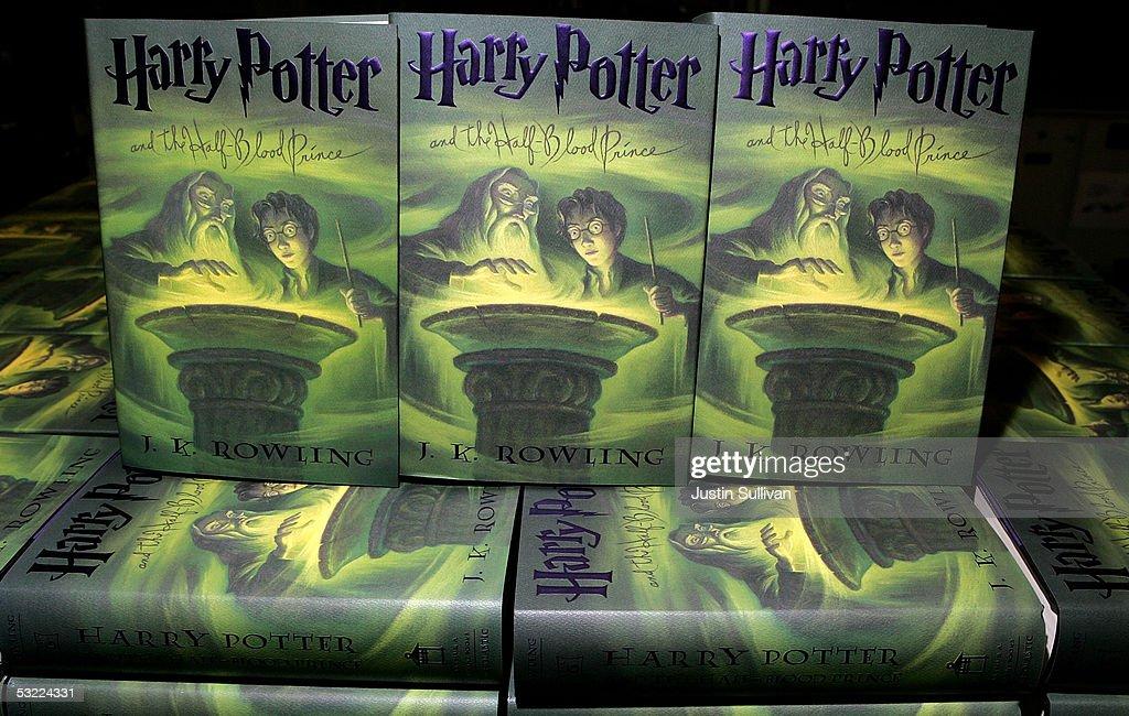 Harry Potter Half Blood Book