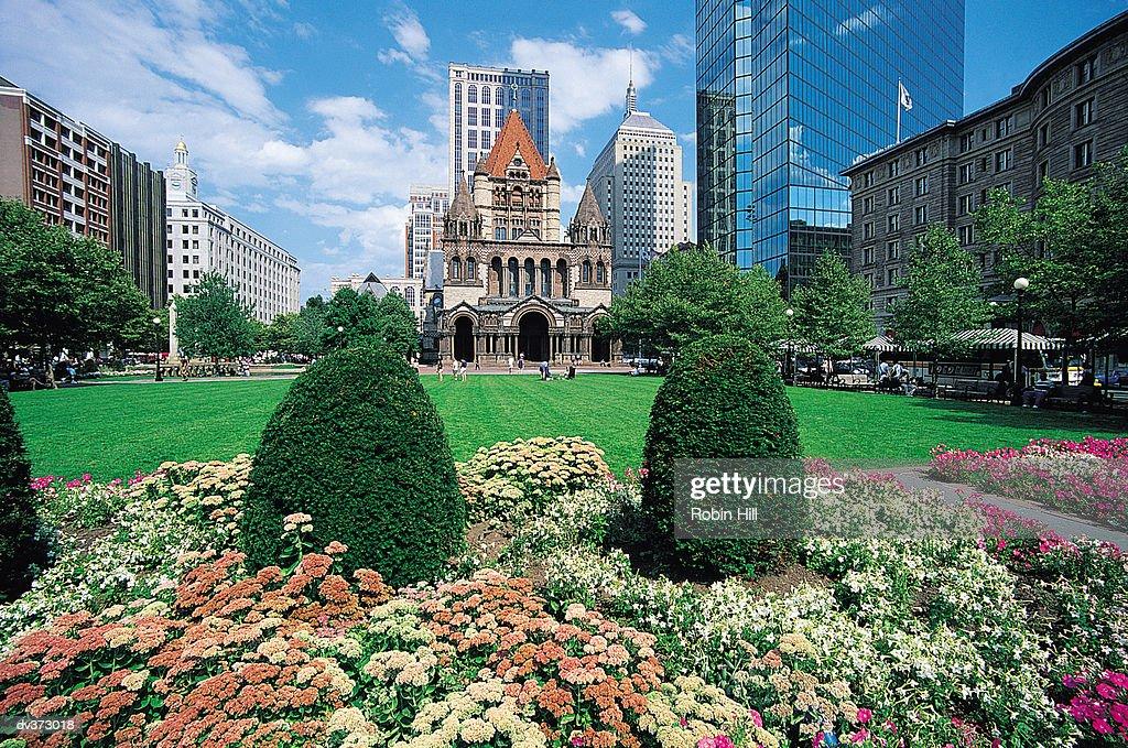 Copley Square, Boston, Massachusetts, USA