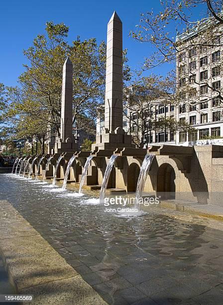 Copley Square Fountain, Boston, Massachusetts