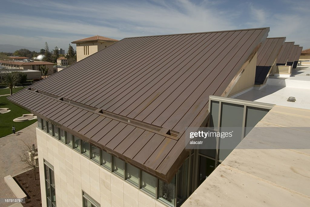 Copper Roof : Stock Photo