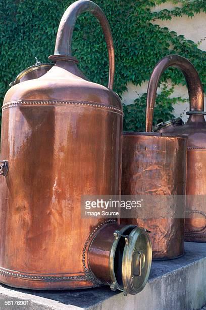 'Copper stills, Graveson Perfume Museum'