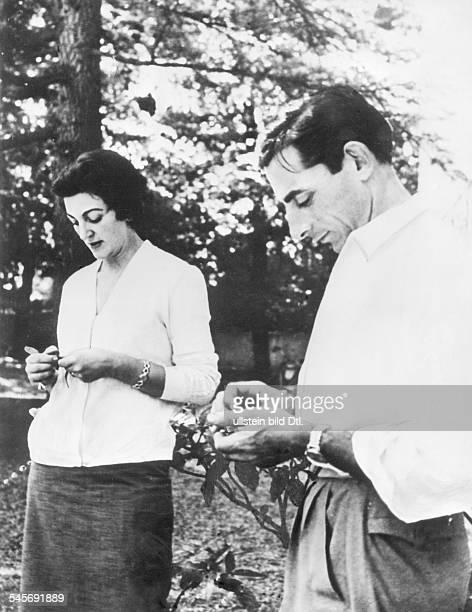 Coppi Fausto *Racing cyclist Italywith Giulia Occhini 1954