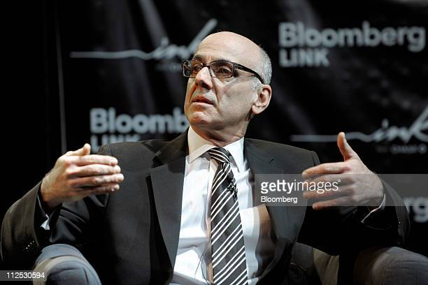 Coppy Holzman cofounder and chief executive officer of Charitybuzzcom speaks at Bloomberg Link Empowered Entrepreneur Summit in New York US on...
