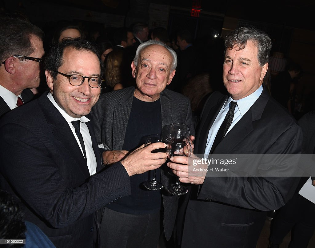 CoPresident and CoFounder of Sony Pictures Classics Michael Barker film critic Joe Morgenstern and Cofounder of Sony Pictures Classics Tom Bernard...