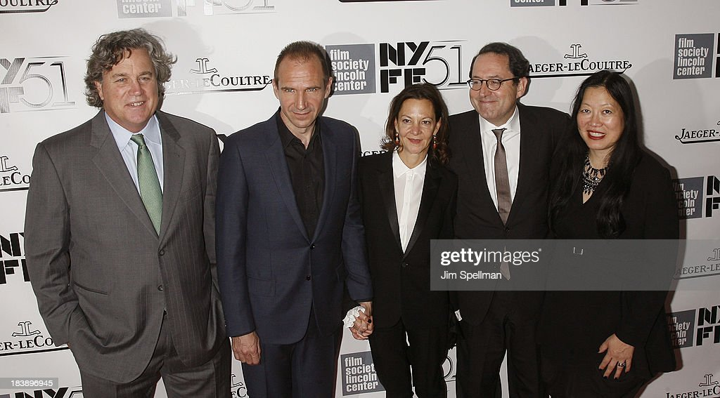 Co-President and co-founder of Sony Pictures Classics Tom Bernard, actor Ralph Fiennes, co-president and co-founder of Sony Pictures Classics Michael Barker and executive director at Film Society of Lincoln Center Rose Kuo attend the Gala Tribute To Ralph Fiennes during the 51st New York Film Festival at Alice Tully Hall at Lincoln Center on October 9, 2013 in New York City.