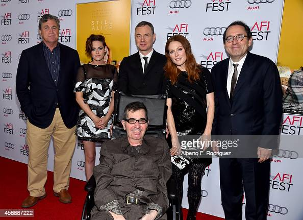CoPresident and CoFounder of Sony Pictures Classics Tom Bernard actress Kristen Stewart director Wash Westmoreland actress Julianne Moore Sony...