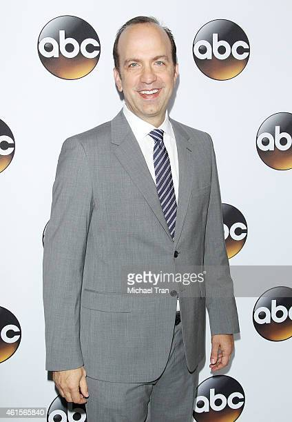 CoPresident Disney/ABC Television Group Ben Sherwood arrives at the Disney ABC Television Group's TCA Winter press tour held at The Langham...