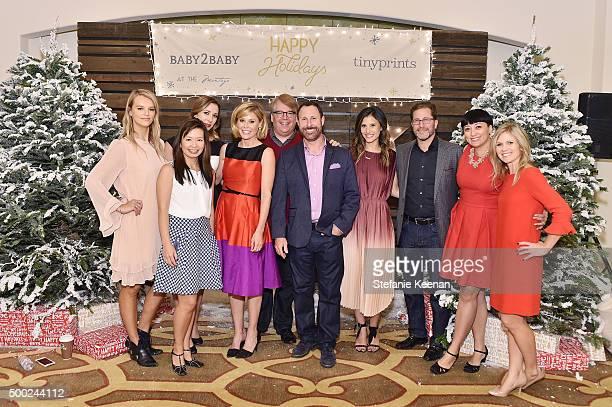Copresident of Baby2Baby Kelly Sawyer Patricof actress Julie Bowen copresident of Baby2Baby Norah Weinstein CEO of Shutterfly Inc Jeffrey Housenbold...