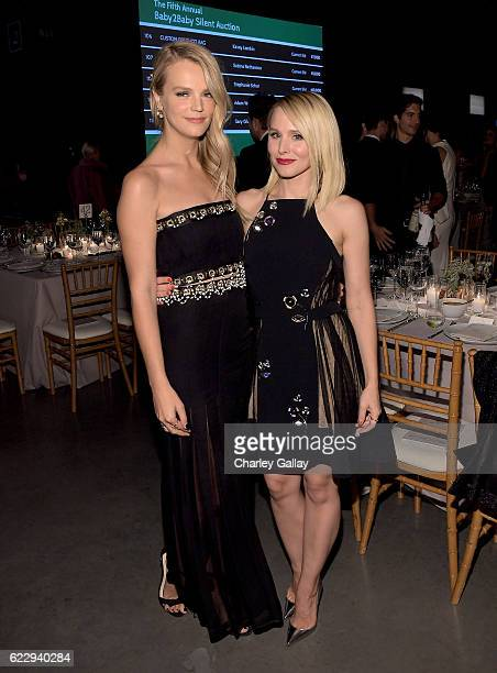 Copresident of Baby2Baby Kelly Sawyer Patricof and actress Kristen Bell attend the Fifth Annual Baby2Baby Gala Presented By John Paul Mitchell...