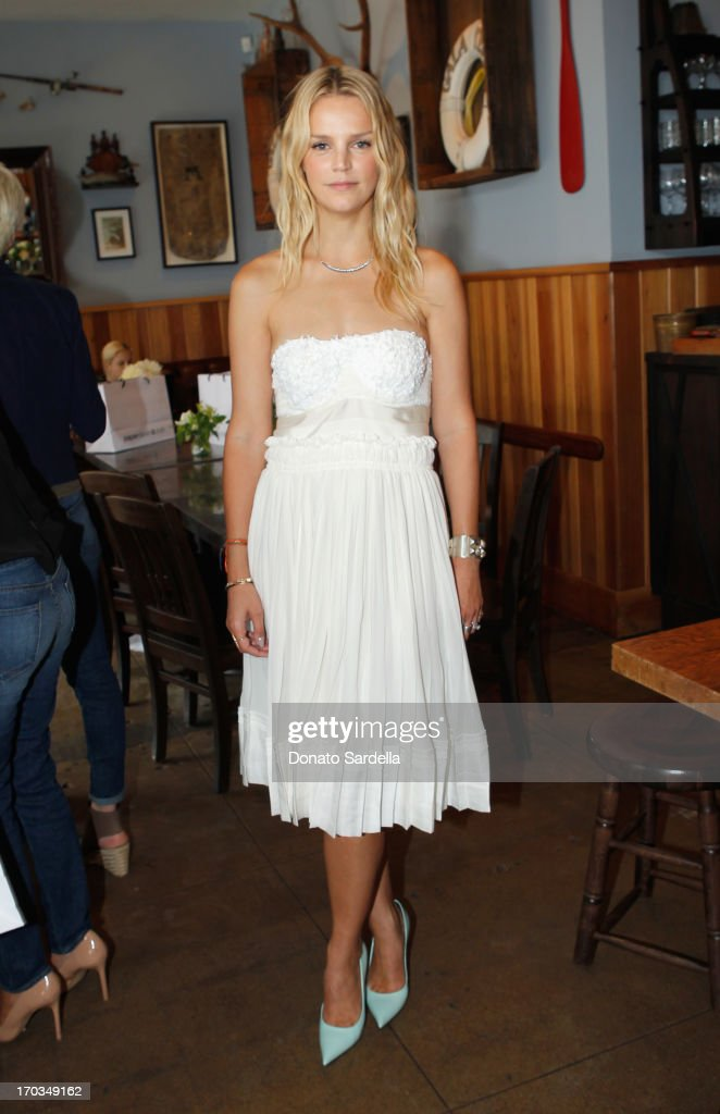 Co-President of Baby2Baby Kelly Sawyer Patricof attends the Paper Denim & Cloth and Baby2Baby Luncheon at Son Of A Gun on June 11, 2013 in Los Angeles, California.