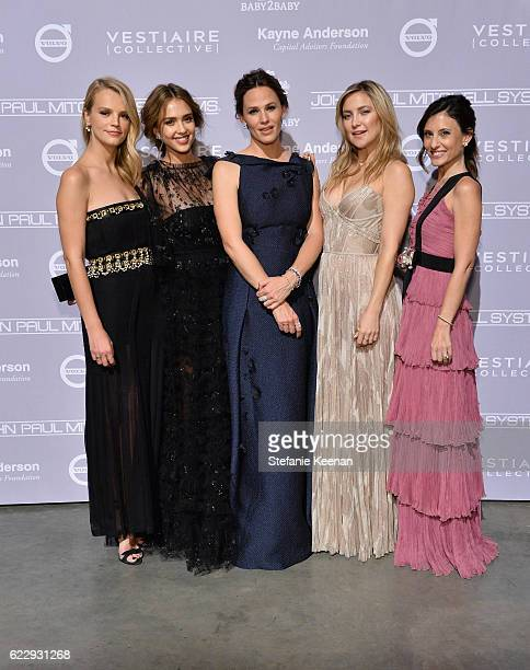 Copresident of Baby2Baby Kelly Sawyer Patricof founder The Honest Company Jessica Alba actors Jennifer Garner and Kate Hudson and copresident of...