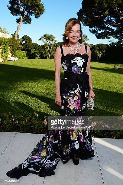 CoPresident of Chopard Caroline Scheufele attends amfAR's 20th Annual Cinema Against AIDS during The 66th Annual Cannes Film Festival at Hotel du...