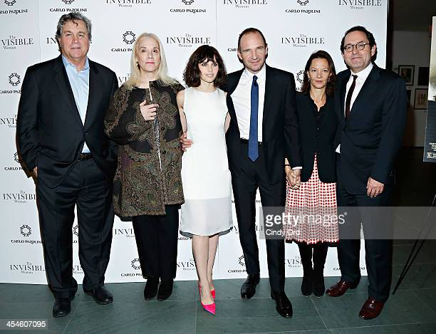 CoPresident of Sony Pictures Classics Tom Bernard producer Carolyn Marks Blackwood actress Felicity Jones actor Ralph Fiennes procucer Gabrielle Tana...