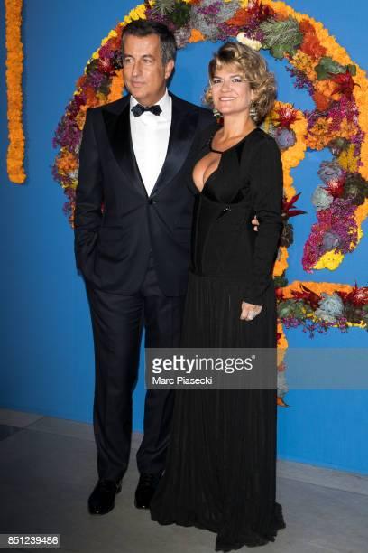 CoPresident of the Opening Gala Cyril Karaoglan and Virginie Ogouz attend the Opening Season Gala at Opera Garnier on September 21 2017 in Paris...